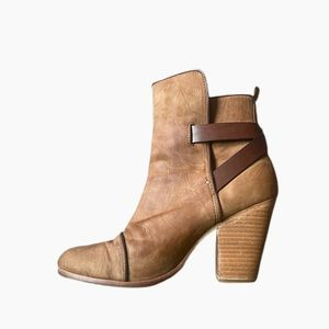 Rag & Bone Harrow leather bootie size 9.5 39.5